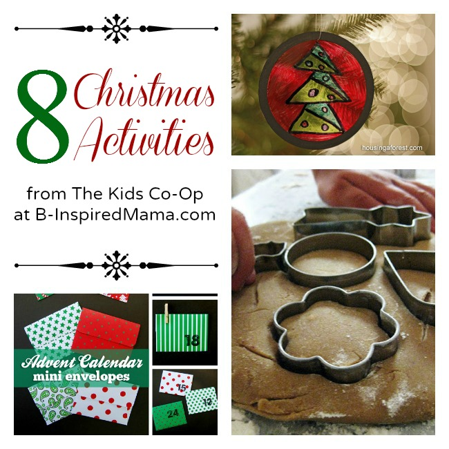 Christmas Activities from The Kids Co-Op at B-Inspired Mama