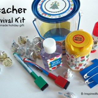 Teacher Survival Kit [Homemade Teacher Gifts]