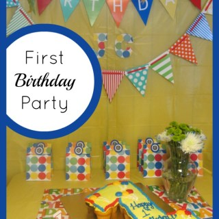Happy First Birthday Party