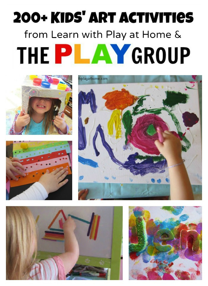 Art Activities from Learn with Play at Home and The PLAY Group