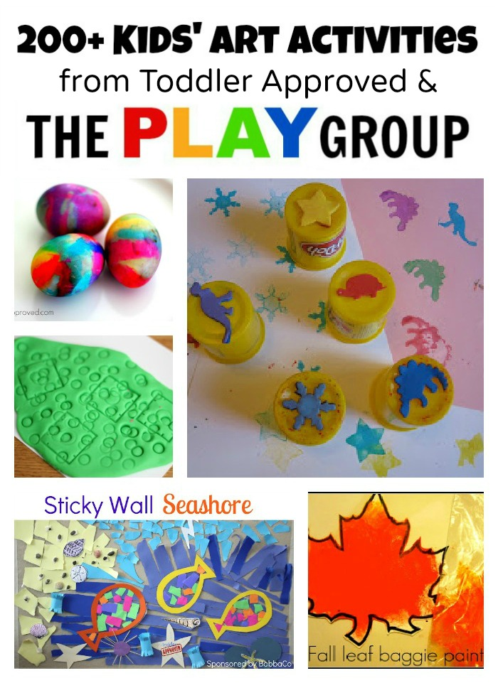 Art Activities from Toddler Approved & The PLAY Group