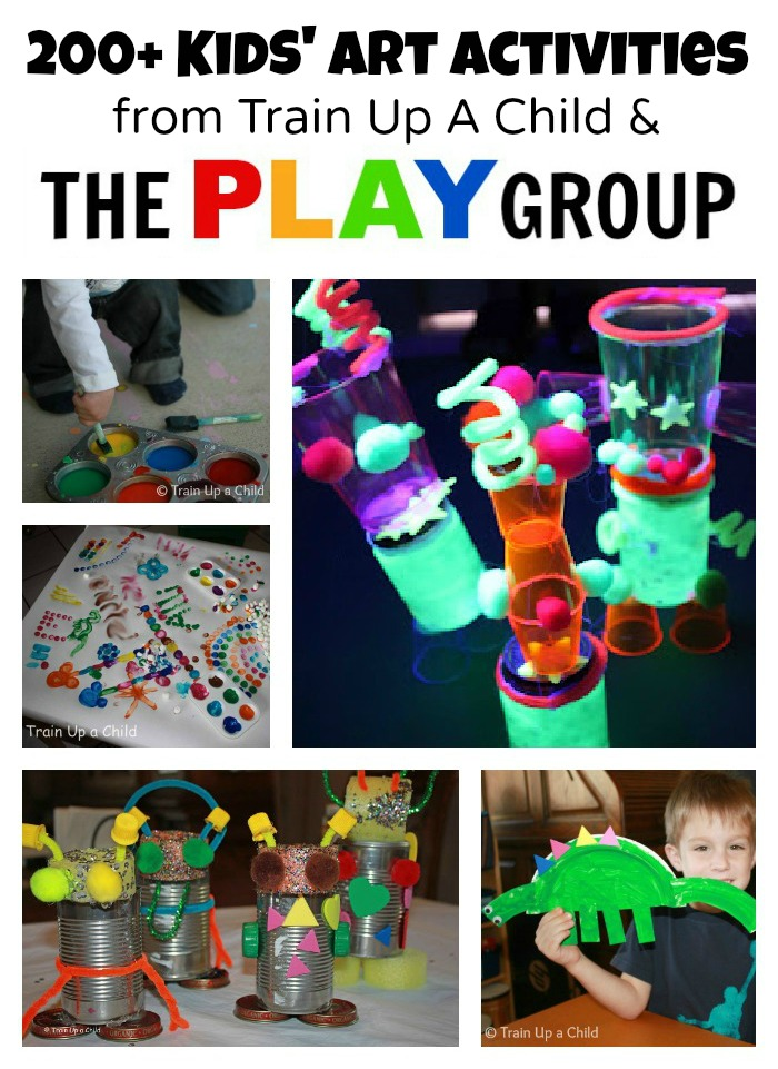 Art Activities from Train Up A Child & The PLAY Group