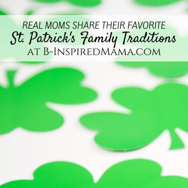 Family Traditions for St. Patrick's Day