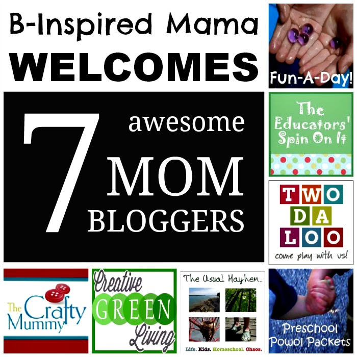 B-InspiredMama Welcomes 7 Awesome Mom Bloggers