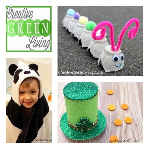 Creative Green Living at B-InspiredMama.com