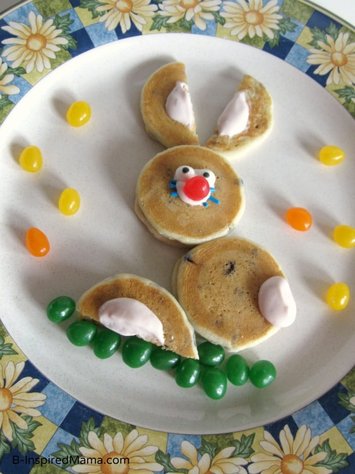 Super Simple Easter Bunny Pancakes