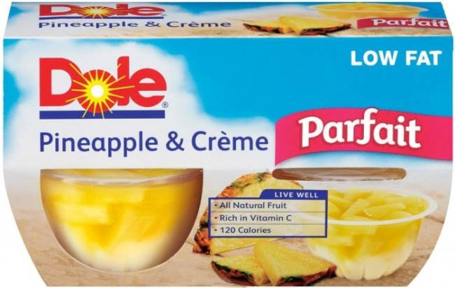 DOLE Pineapple Creme Fruit Parfaits for a Mom Time Escape at B-InspiredMama.com