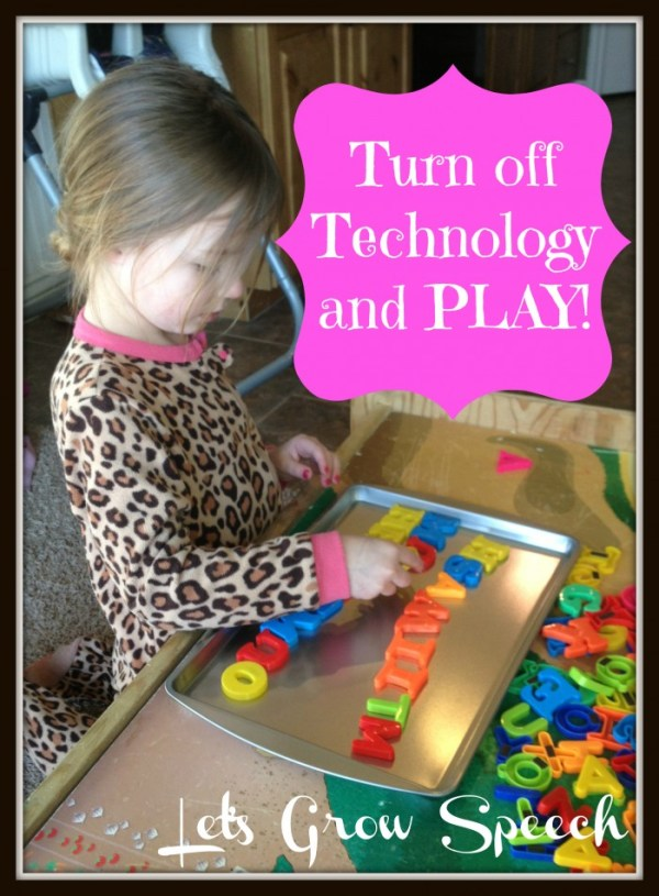Be the Best Mom: Turn Off Technology & PLAY | B-Inspired Mama