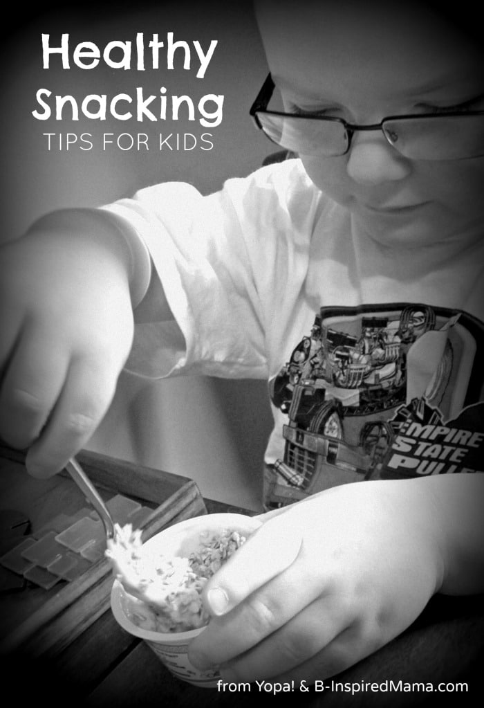 4 Healthy Snacking Tips for Kids from #YopaYogurt and B-InspiredMama.com #spon