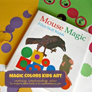 Magic Colors Kids Art Project [Poppins Book Nook]
