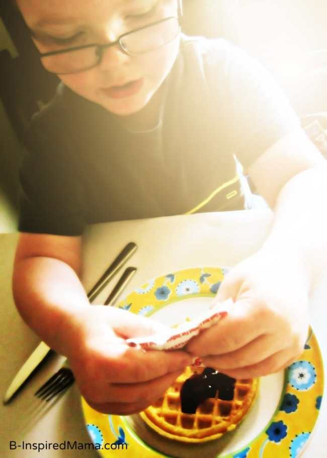 Kids Morning Tips from EGGO Drizzlers and B-InspiredMama.com