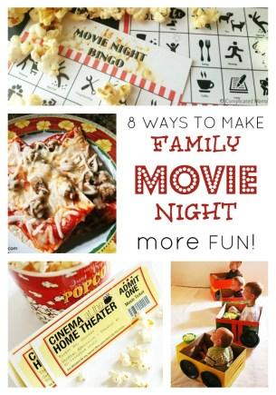 Make Family Movie Night More Fun At B Inspiredmama Com