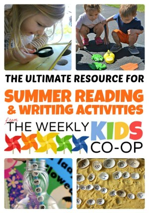 Ultimate Resource for Summer Reading and Writing Activities from WeeklyKidsCoOp.com