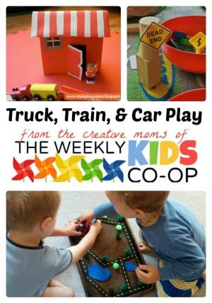 Play Trucks Trains and Cars with The WeeklyKidsCoOp.com