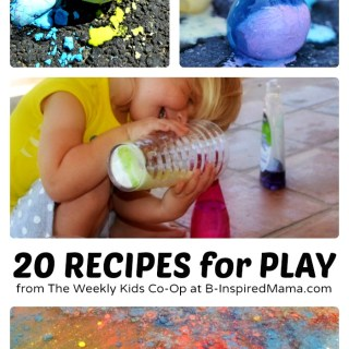 20 Fun Play Recipes from The Weekly Kids Co-Op