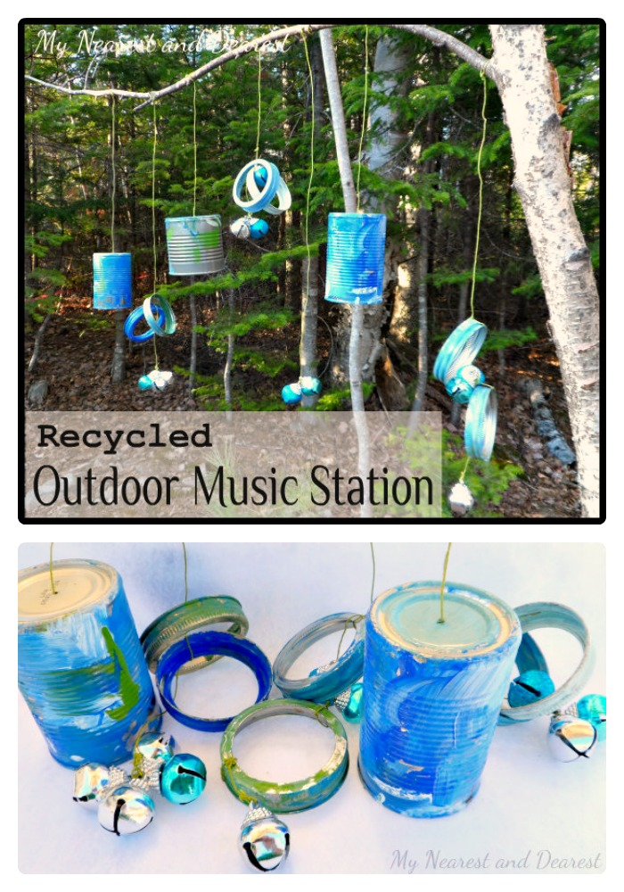 DIY Musical Kids Outdoor Play Area [From the Mamas]