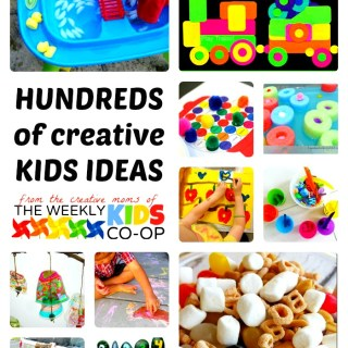 Hundreds of Creative Kids Activities from The Weekly Kids Co-Op