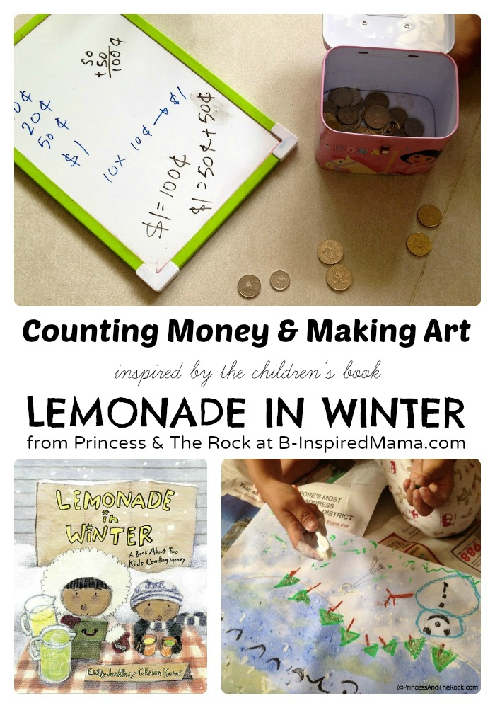 Lemonade in Winter Preschool Activities [Contributed by Princess and The Rock]