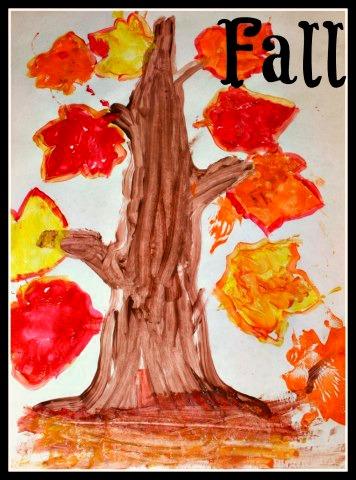 Fall Season Craft at B-Inspired Mama