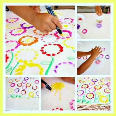 Spring Season Craft at B-Inspired Mama