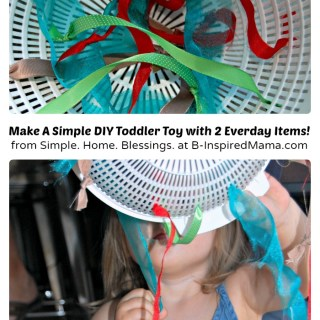 A Simple to Make DIY Toy for Toddlers [Contributed by Simple. Home. Blessings.]
