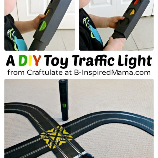 DIY Toy Traffic Light [Contributed by Craftulate]