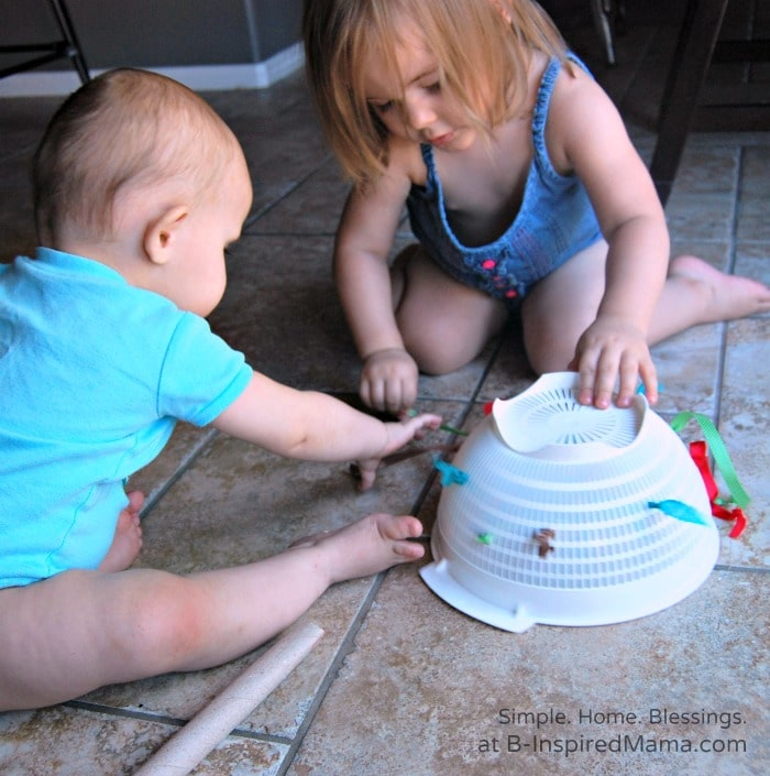 DIY Toy for Baby and Toddler at B-Inspired Mama