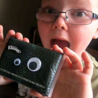 Fun Kids Tissues for Allergy Season [Sponsored by Kleenex]