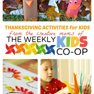 Thanksgiving Activities for Kids from The Weekly Kids Co-Op