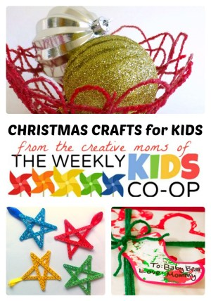 Kids Christmas Crafts at The Weekly Kids Co-Op