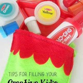 A Kids Christmas Stocking Full of Creativity [Sponsored by searsStyle]
