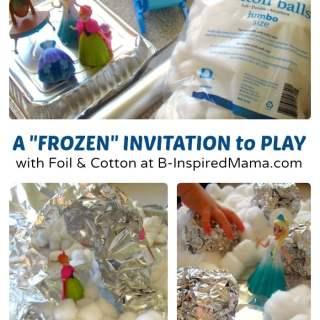 """Indoor """"FROZEN"""" Kids Play"""