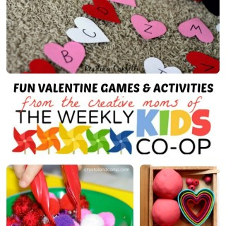 Fun Valentine Games and Activities from The Weekly Kids Co-Op