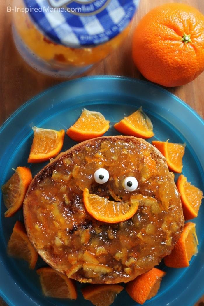 Kids in the Kitchen – Citrus Sunshine Snack