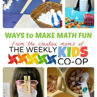 Make Math Fun with The Weekly Kids Co-Op