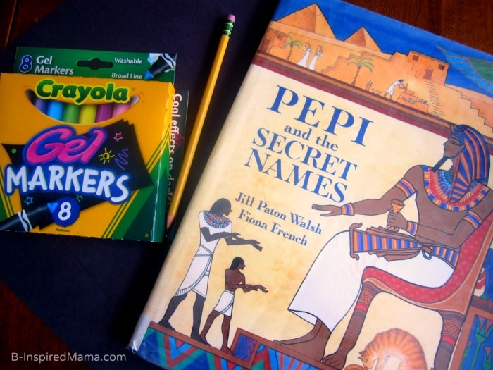 Learning About Egypt with a Kids Art Project (#Sponsored by #SwifferatTarget) at B-Inspired Mama