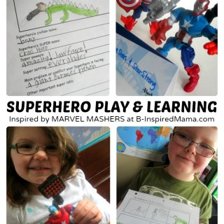 Make Your Own Superhero – Play and Learning
