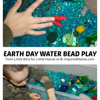 Earth Day Activities with Water Beads