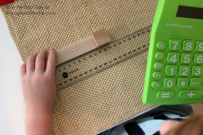 Measuring for some Math Fun at B-Inspired Mama