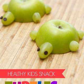 Kids in the Kitchen – Apple Turtles