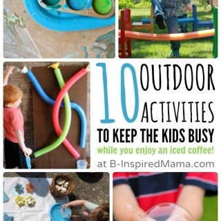 10 Outdoor Activities to Buy You Some Mama Time