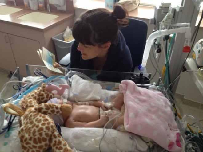 Heather and Baby Savannah Hope - B-Inspired Mama