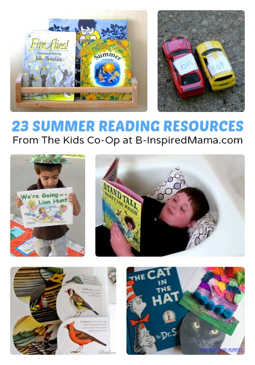 23 Summer Reading Resources from The Weekly Kids Co-Op