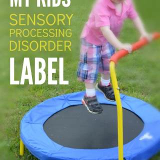Why I Embrace Our Sensory Processing Disorder Label