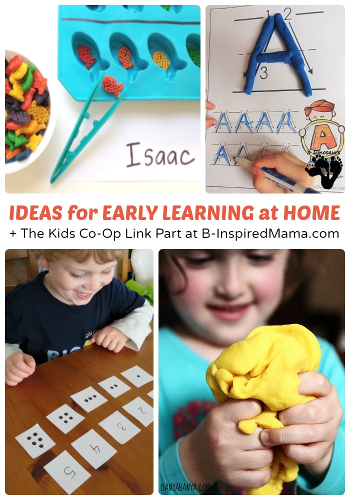 Early Learning Coalition Of Polk County: Early Learning At Home + Kids Co-Op Link Party