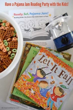 Have a Pajama Jam Reading Party with the Kids - [#sponsored by Eveready and Scholastic] at B-Inspired Mama