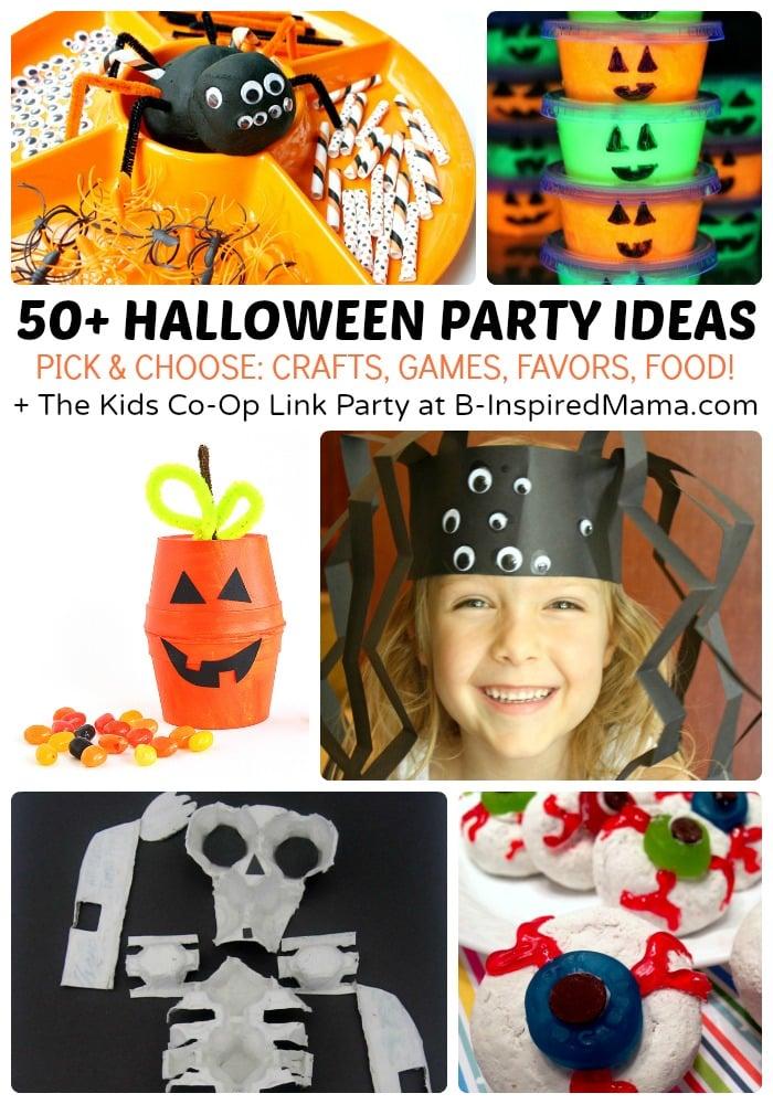 Halloween contest prize kit tumblers: 50 Kids Halloween Party Ideas