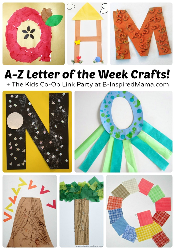 The letter of the week theme is a classic way to get preschoolersexcited about thealphabet, learning their letters, and practicing their fine motor skills, too. And whether you do homeschool preschool or are a preschool teacher, you're sure to find these adorable alphabet crafts perfect for adding to yourletter of the week theme!