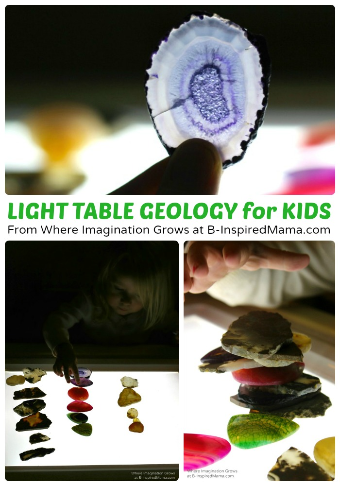 Light Table Geology Science for Kids