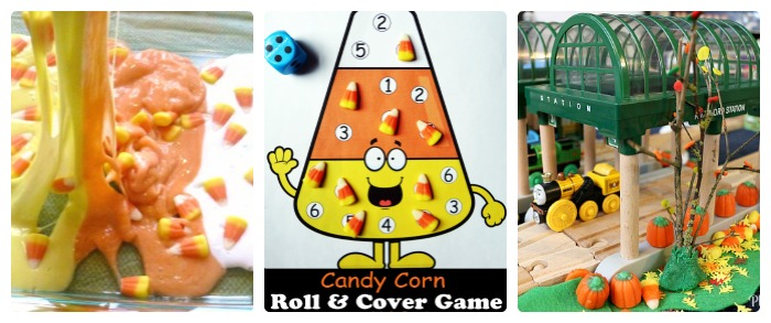 What to Do With Leftover Halloween Candy - Play and Learning + The Kids Co-Op Link Party at B-Inspired Mama